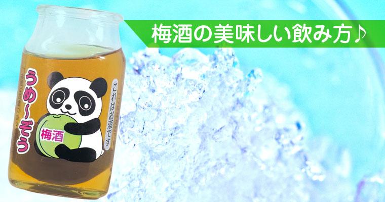 「クラッシュアイスに梅酒で乾杯!」陶陶酒カクテルの試飲も兼ねた親睦会を開きました。